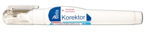 KOREKTOR W PIÓRZE 7ML.TETIS BK001-AM A'24 4358